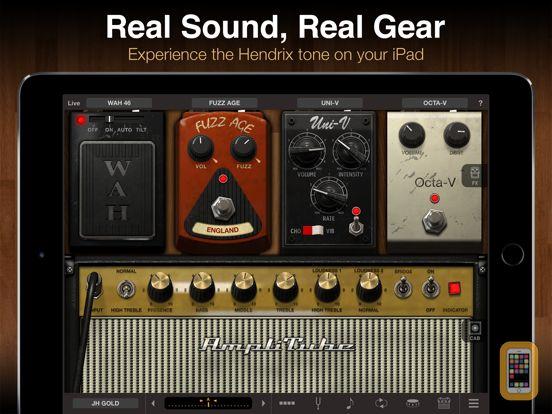Screenshot - AmpliTube Hendrix™ for iPad