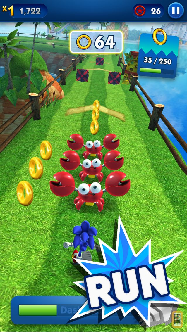 Screenshot - Sonic Dash