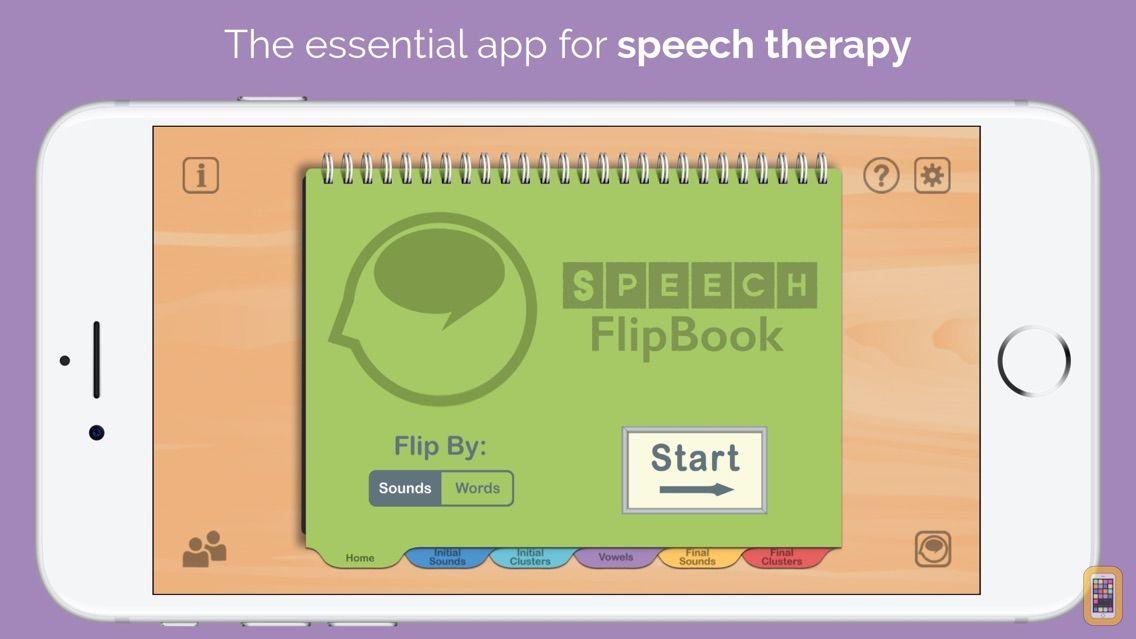 Screenshot - Speech FlipBook Standard