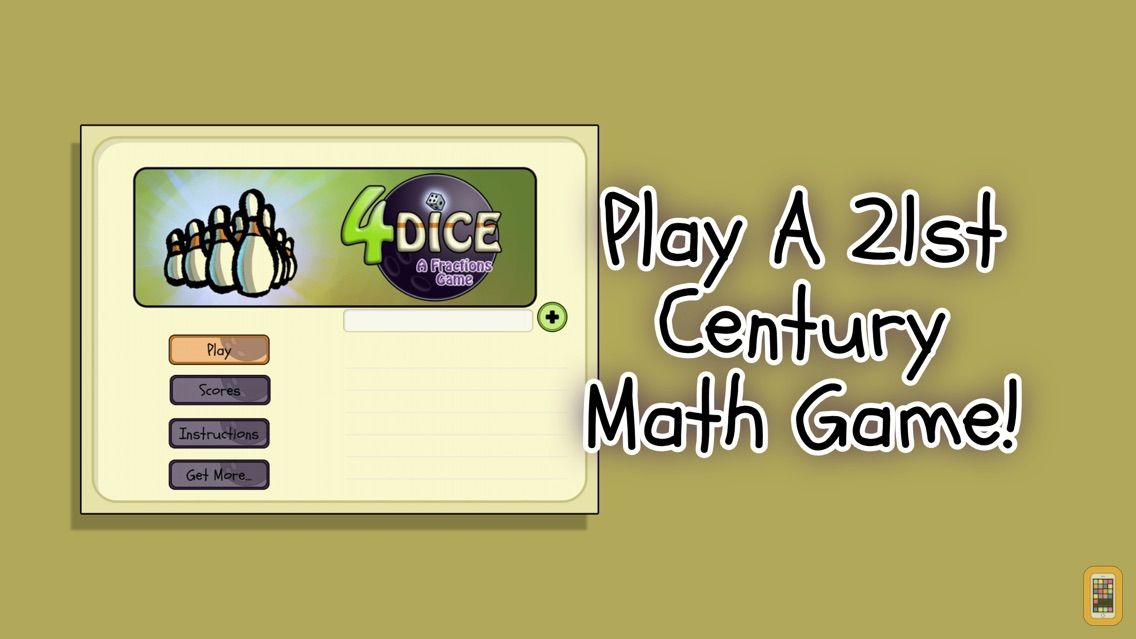 Screenshot - 4 Dice a Fractions Game