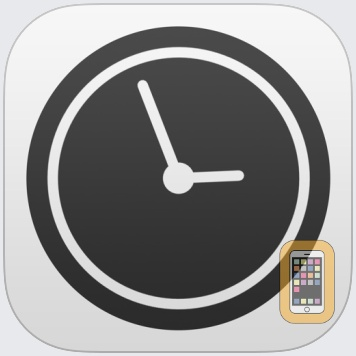 Work Time - Elegant desk top clock with calendar and weather by Nick Fanger (iPhone)