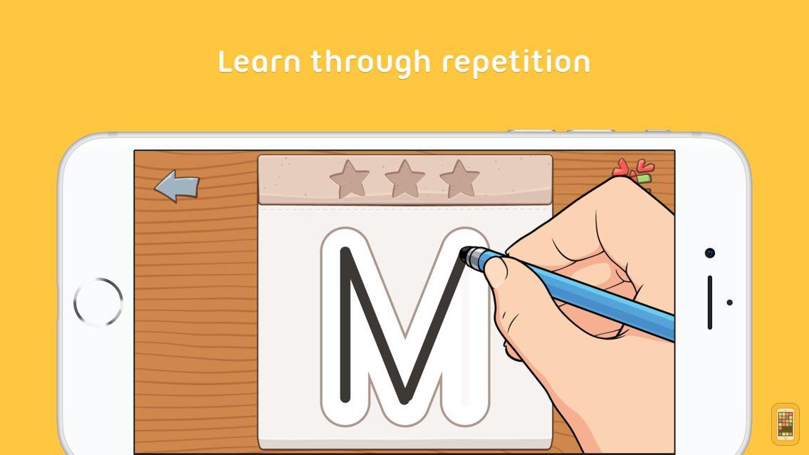Screenshot - iTrace — handwriting for kids