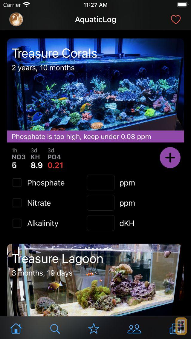 Screenshot - AquaticLog