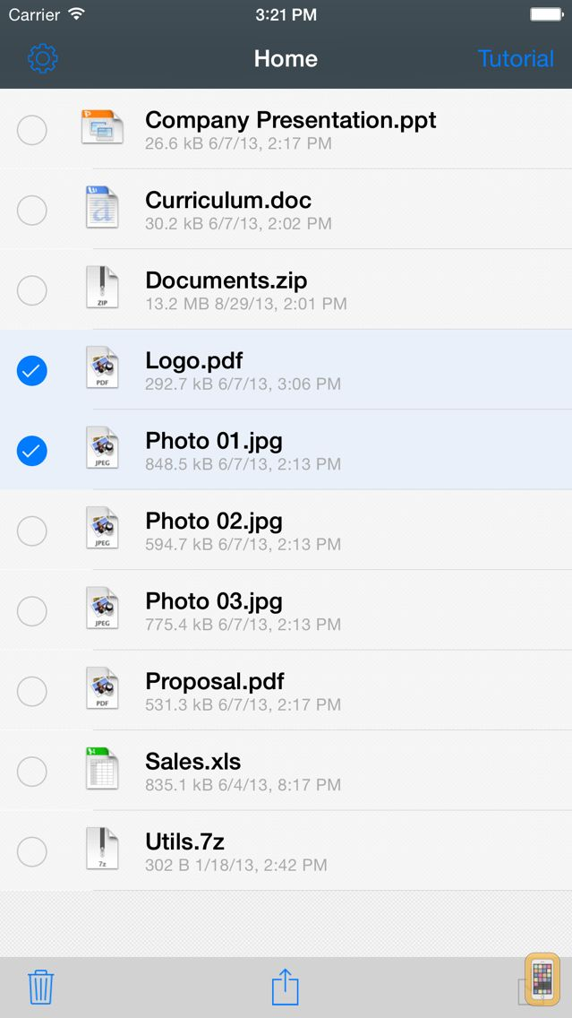Screenshot - File Transfer - Exchange files between devices