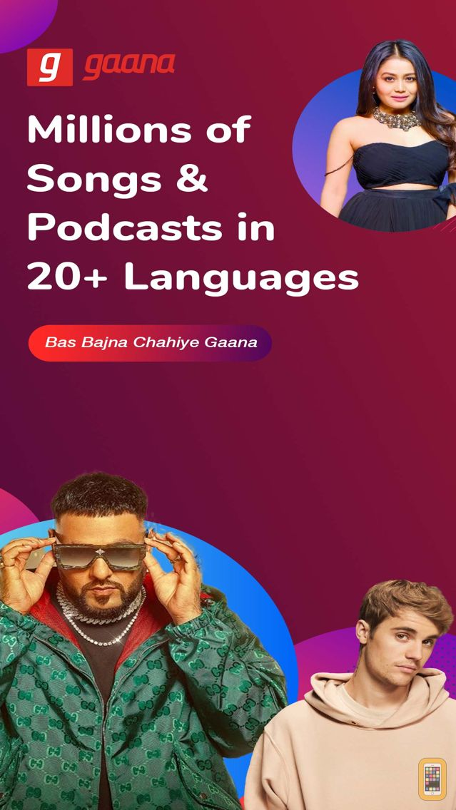 Screenshot - Gaana Music - Songs & Radio