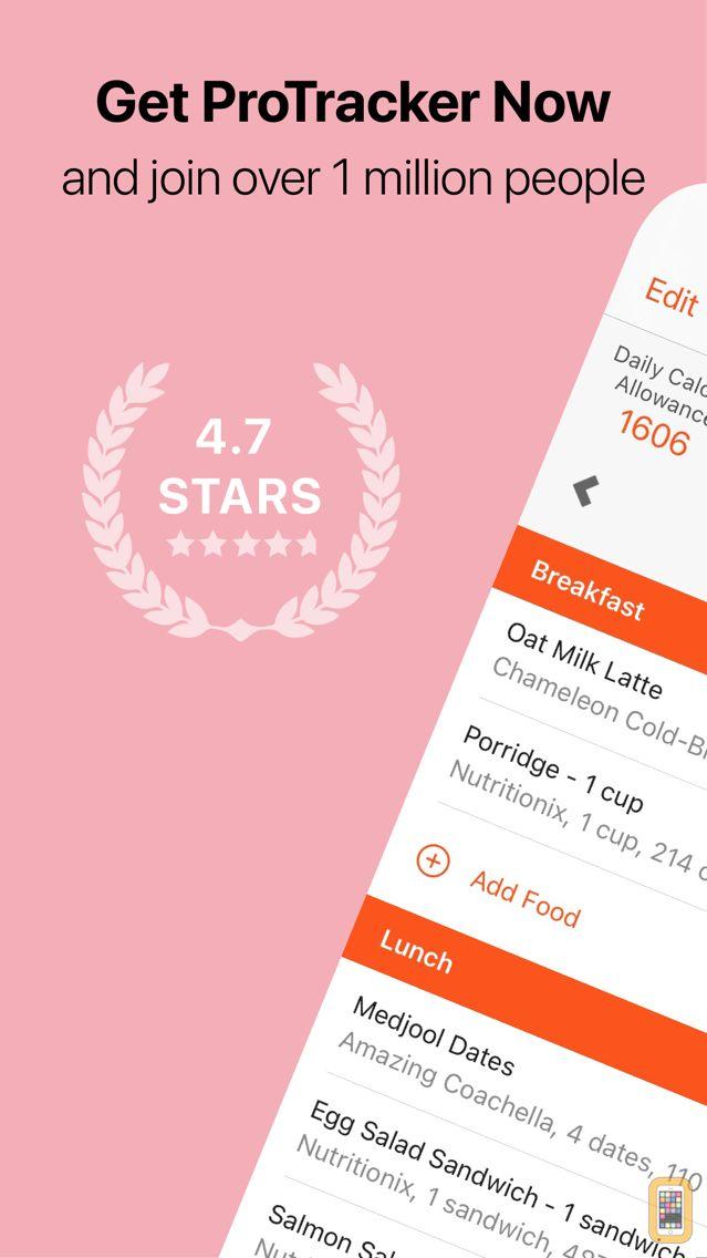 Screenshot - ProTracker Plus Calorie Diary