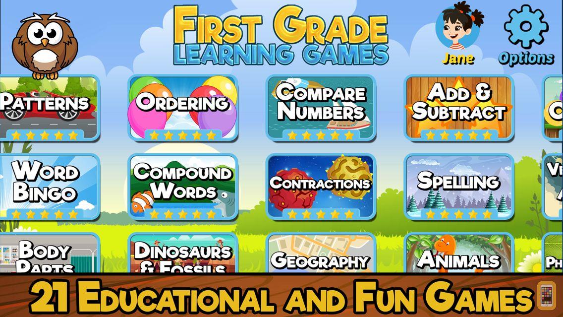 Screenshot - First Grade Learning Games SE