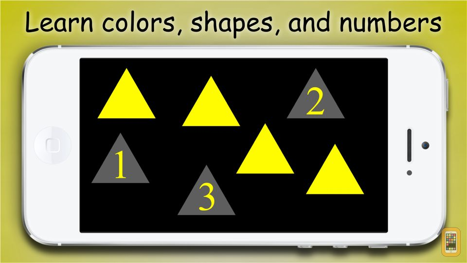 Screenshot - Baby Count: educational game that teaches kids about numbers, shapes, colors, and counting