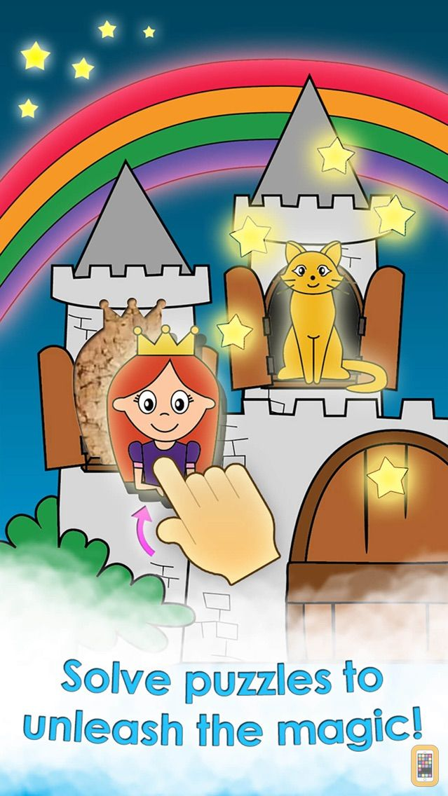 Screenshot - Princess Games Activity Puzzle and Fairy Tale Puzzles for Kids, Girls, and Little Fairies