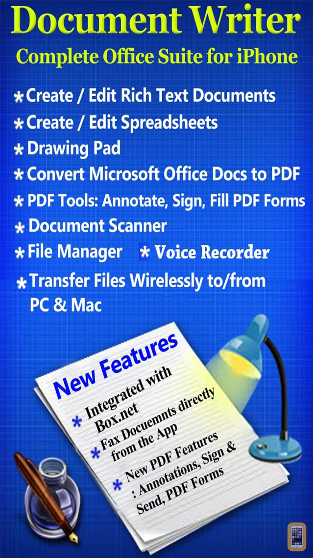 Screenshot - Document Writer for Microsoft Office - Word & PDF