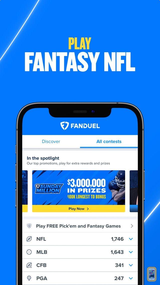 Screenshot - FanDuel - Fantasy Sports