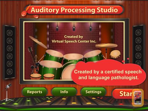 Screenshot - Auditory Processing Studio