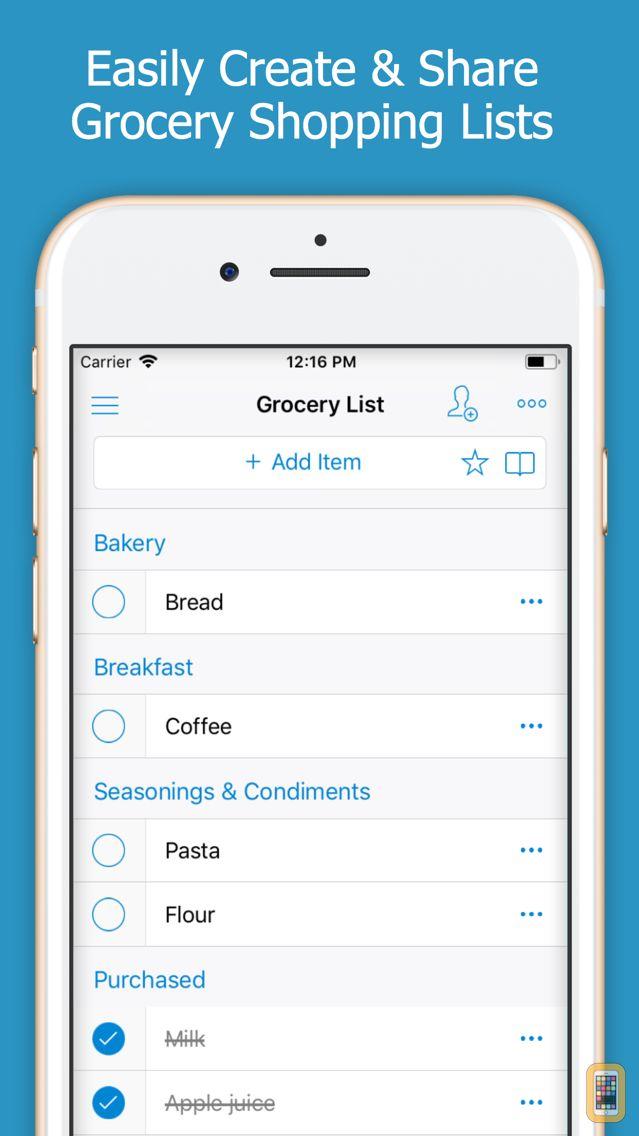 Screenshot - Shoppylist - Shopping List