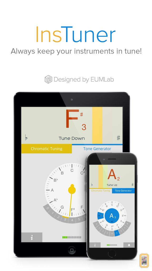Screenshot - insTuner Free - Chromatic Tuner
