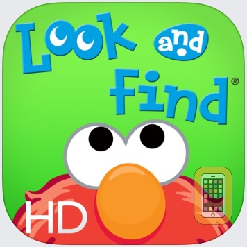Look and Find® Elmo on Sesame Street for iPad by Sesame Street (iPad)