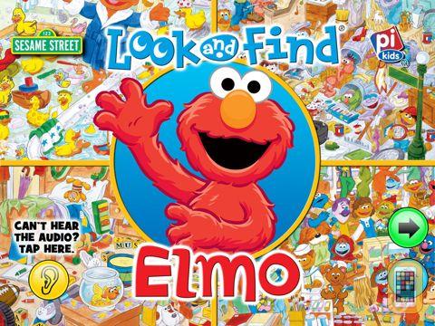 Screenshot - Look and Find® Elmo on Sesame Street for iPad