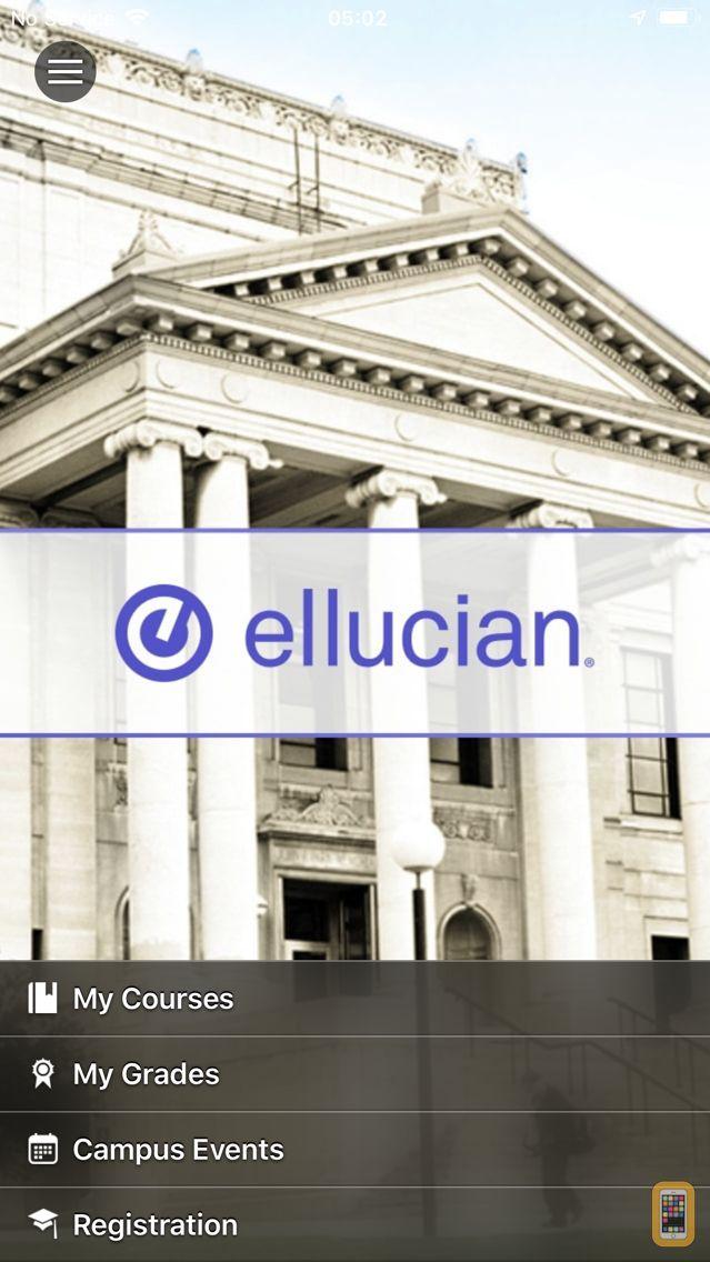 Screenshot - Ellucian GO