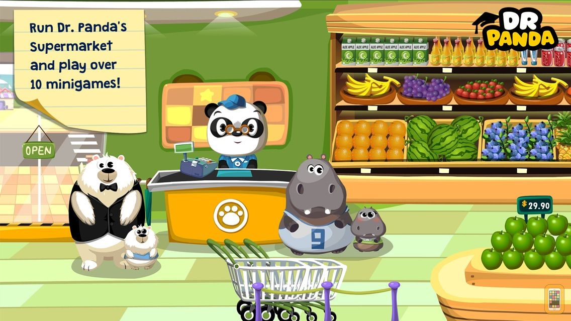 Screenshot - Dr. Panda Supermarket