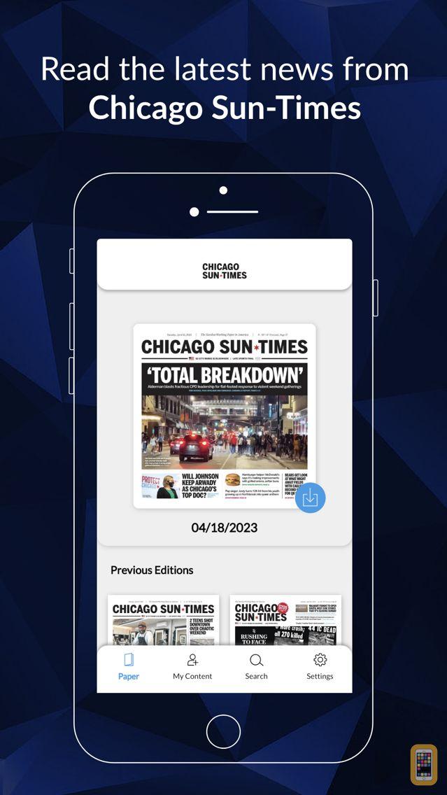 Screenshot - Chicago Sun-Times: E-Paper