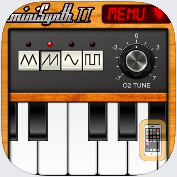 miniSynth 2 by Yonac Inc. (iPhone)