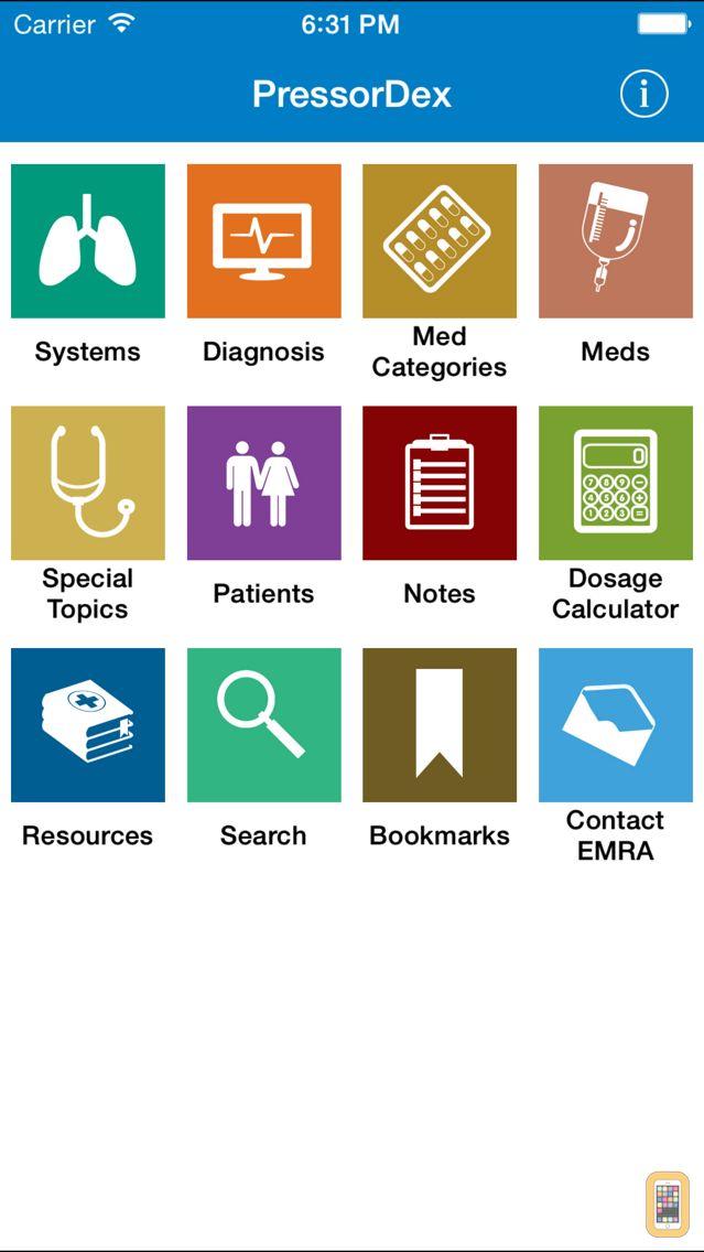 Screenshot - EMRA PressorDex
