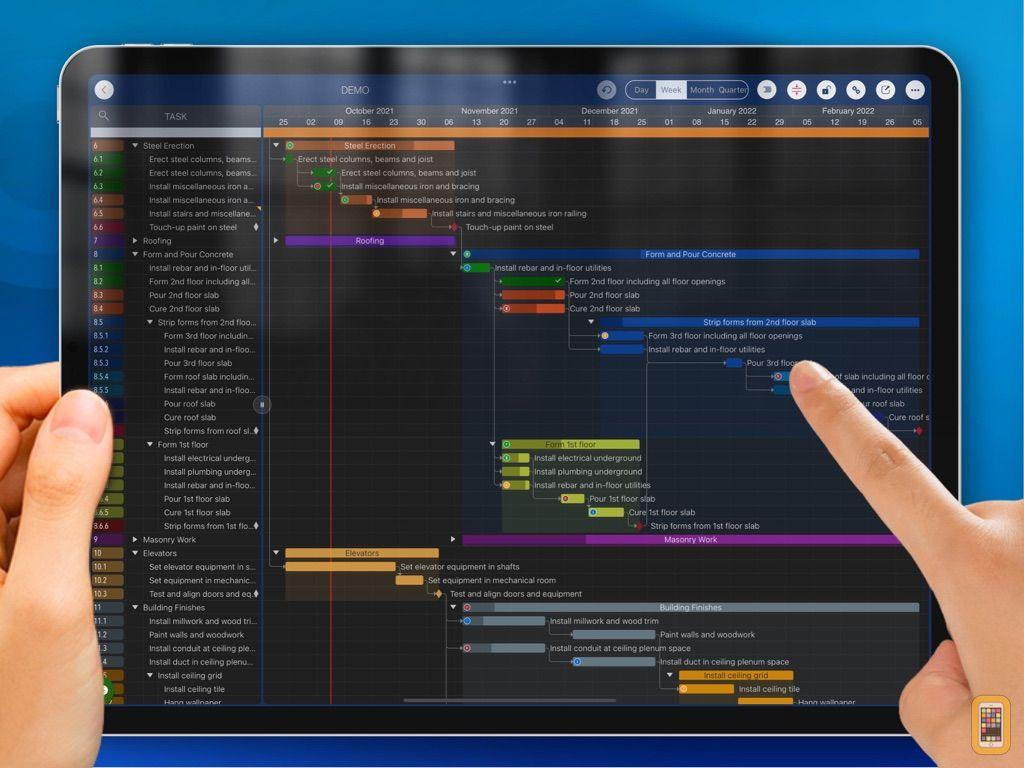 Screenshot - Quick Plan, Project Management