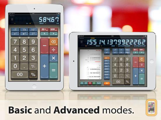 Screenshot - MaxiCalc Pro: Big Retro LCD Paper Tape Calculator