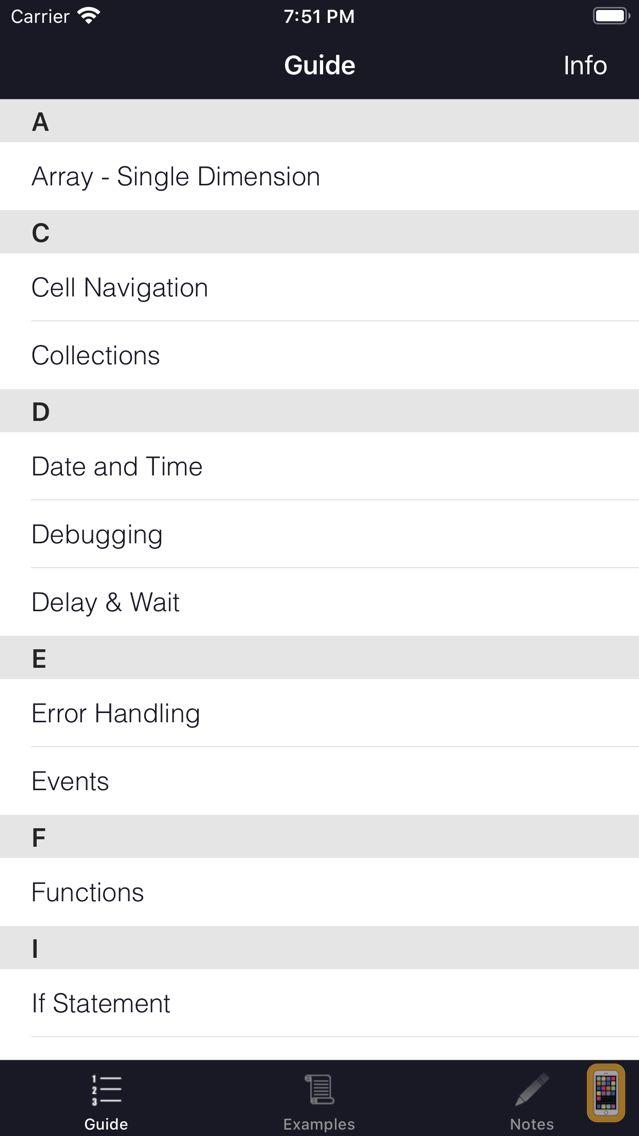 Screenshot - VBA Guide For Excel