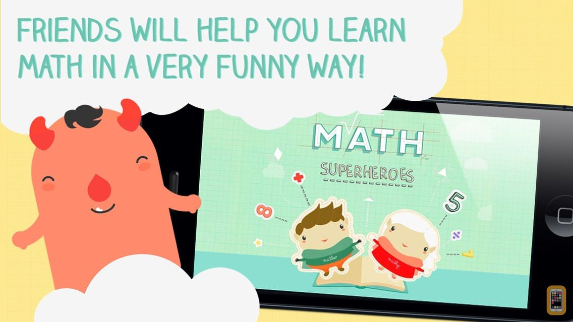 Screenshot - Math Superheroes - Learn math while having fun