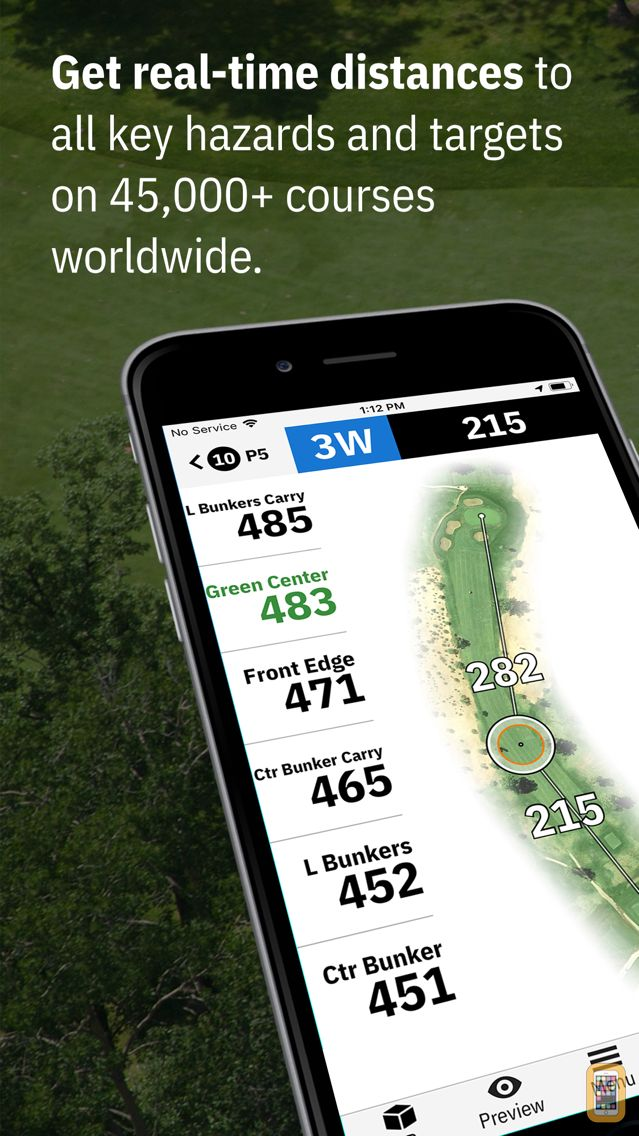 Screenshot - Golfshot: Golf GPS + AR