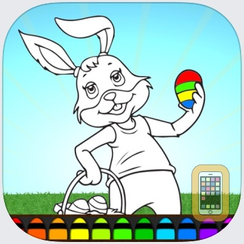 Easter Bunny Eggs ColoringBook FREE by TickTap (Universal)