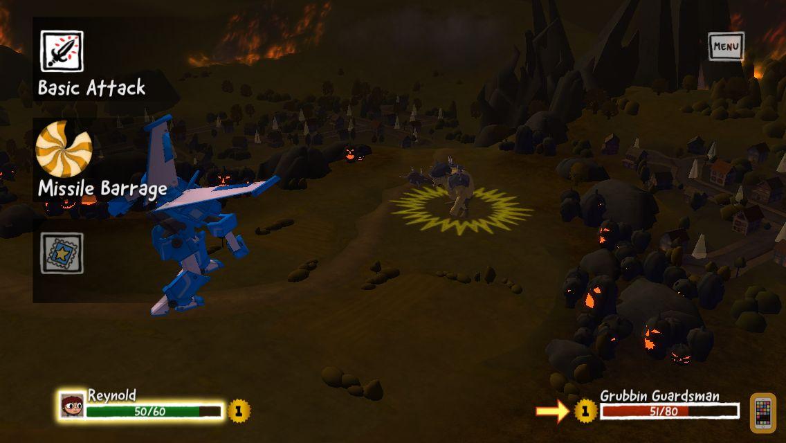 Screenshot - Costume Quest