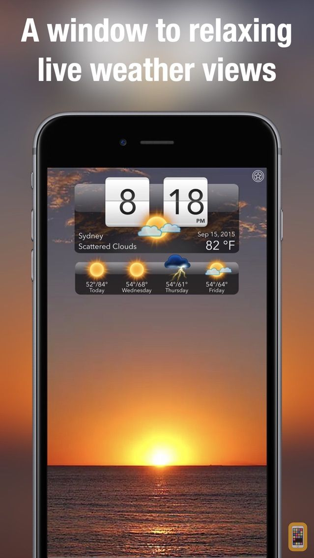 Screenshot - Living Weather HD +