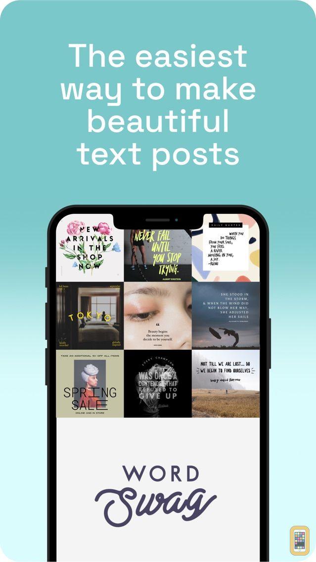 Screenshot - Word Swag - Cool Fonts