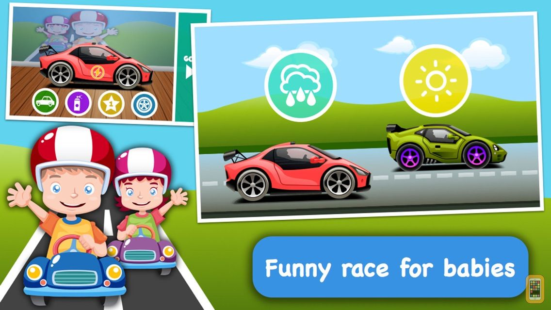 Screenshot - Baby Race - build a car and take a ride!