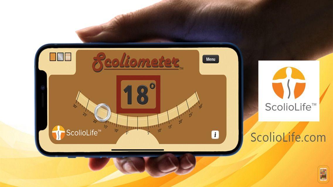 Screenshot - Scoliometer