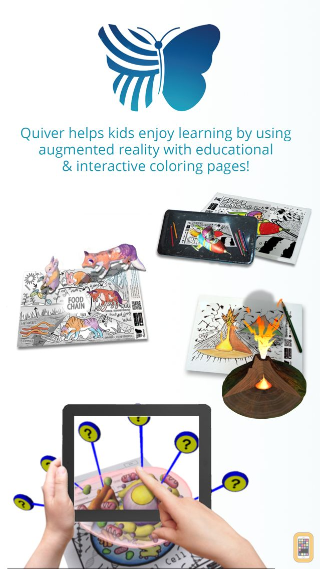 Quiver - 3D Coloring App for iPhone & iPad - App Info ...