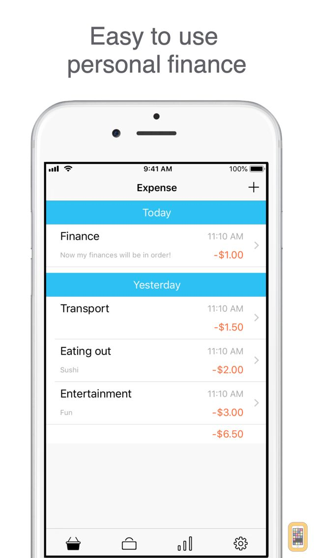 Screenshot - Just Money : Personal Budget - Your Income and Expenses, Interactive Statistics