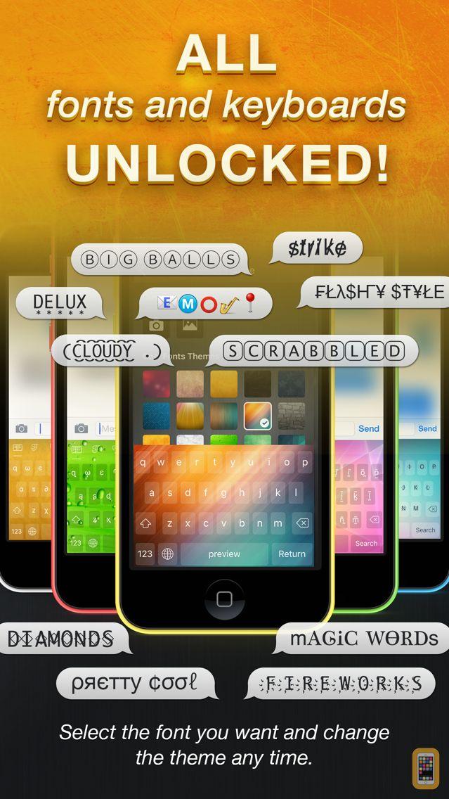 Screenshot - Cool Fonts Pro - Font Keyboard