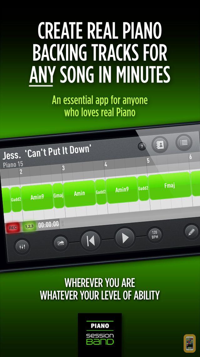Screenshot - SessionBand Piano 1