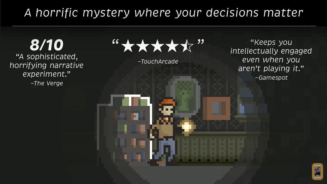 Screenshot - Home - Unique Horror Adventure