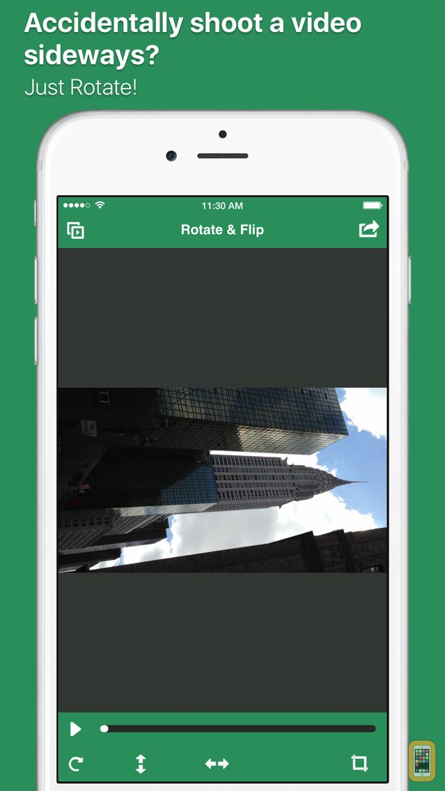 Screenshot - Video Rotate And Flip