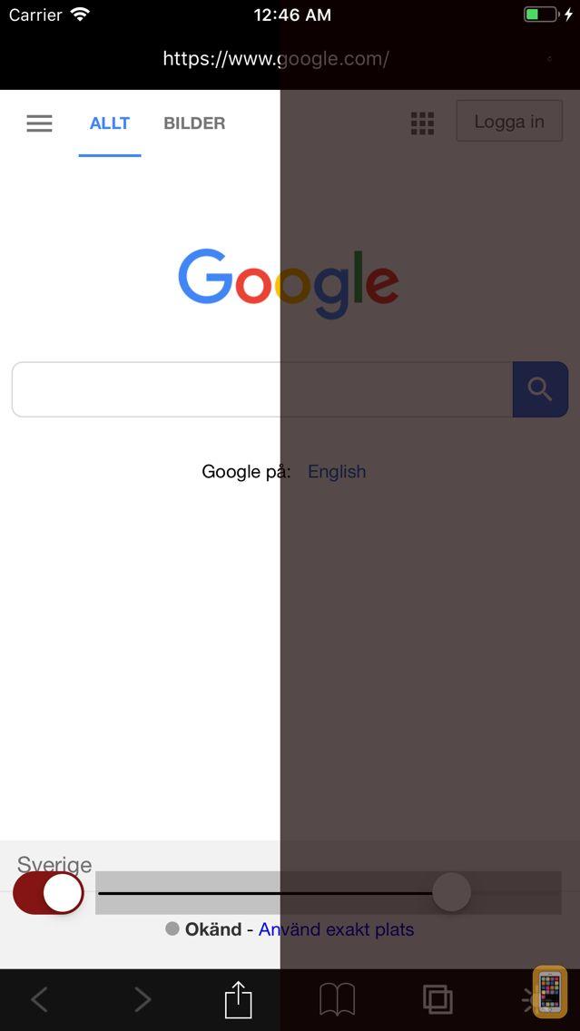 Screenshot - Night Web Browser by Alex