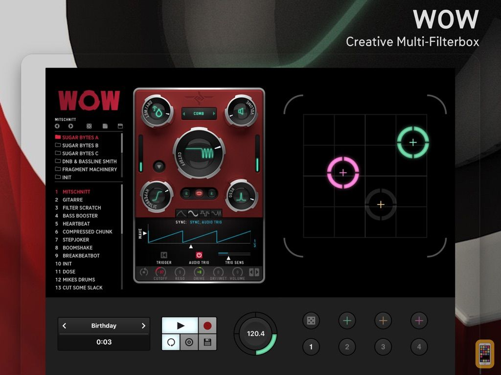 Screenshot - WOW Filterbox