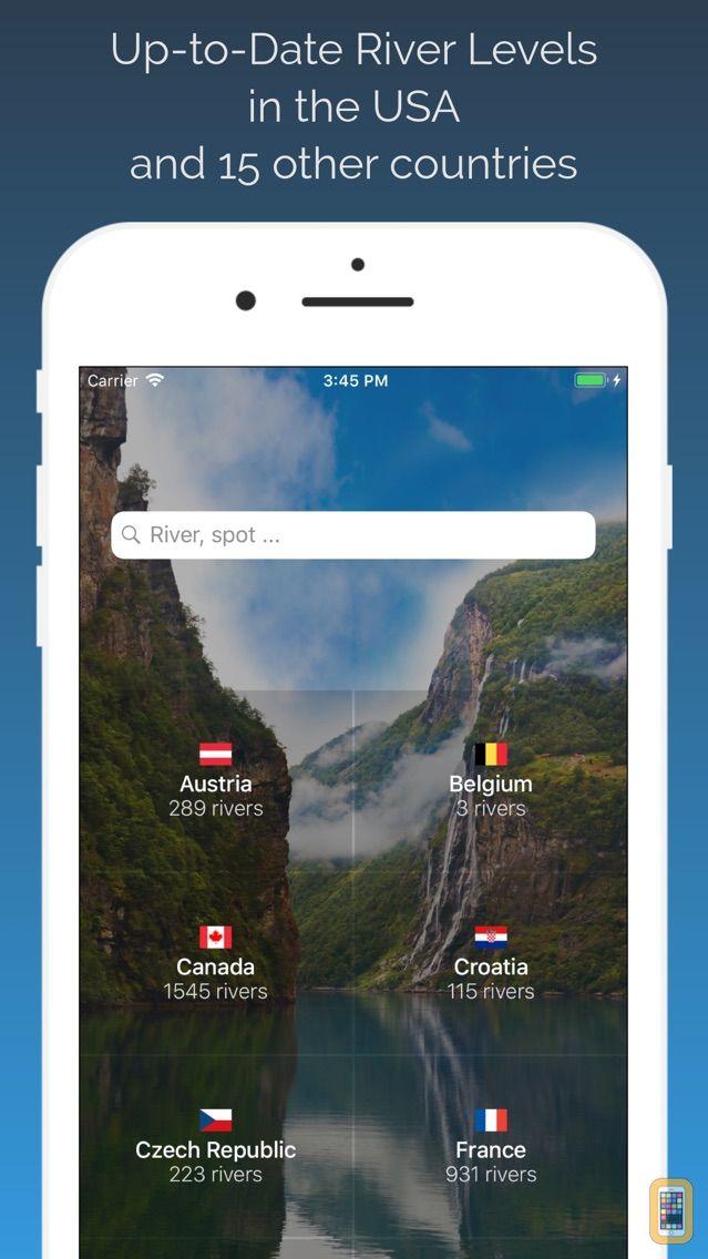 Screenshot - RiverApp - River levels