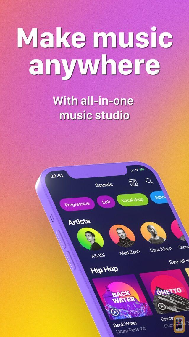 Screenshot - Drum Pads 24 - Beats Maker