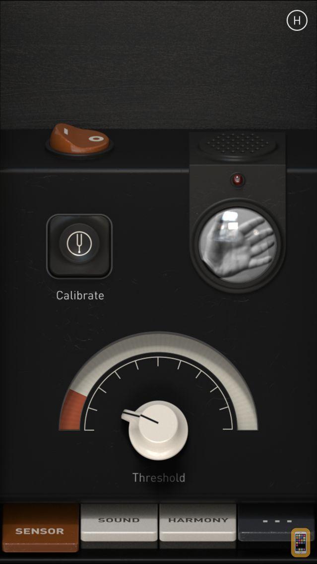 Screenshot - Theremin I/O