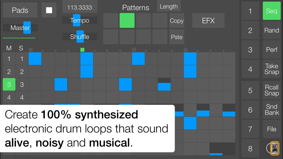 Screenshot - SeekBeats Drum Machine Synth