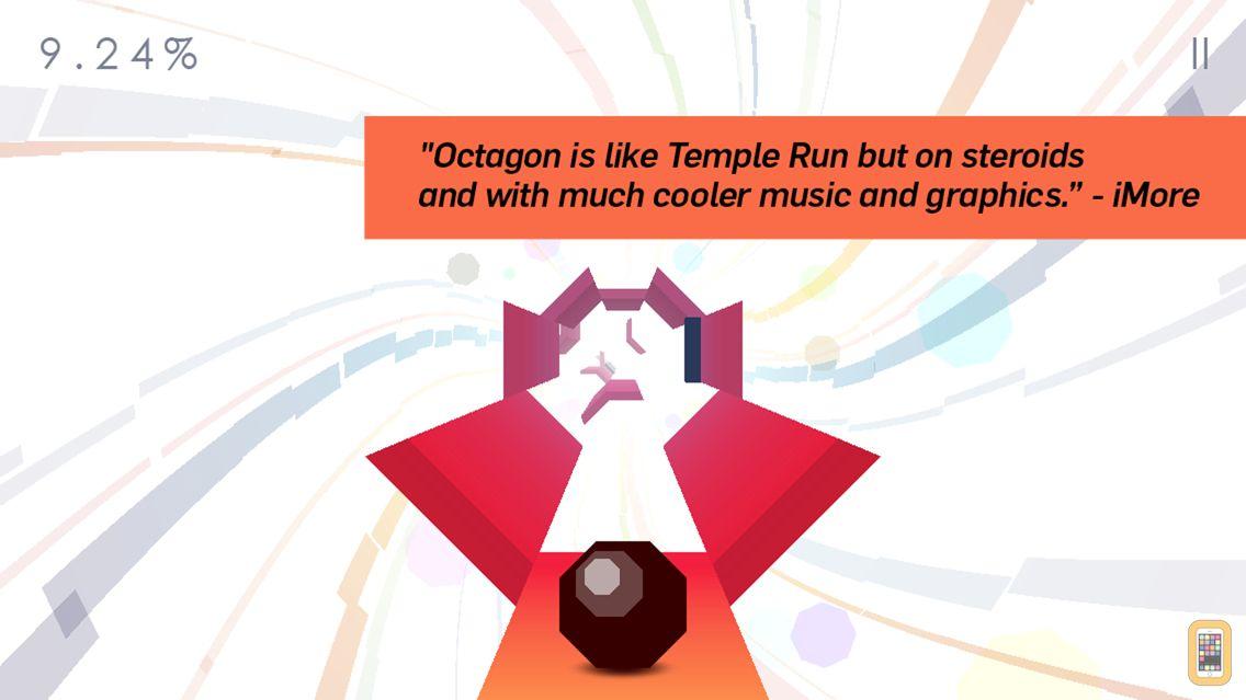Screenshot - Octagon - A Minimal Arcade Game with Maximum Challenge