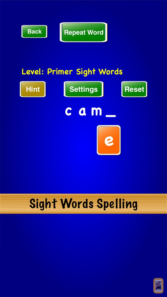 Screenshot - Sight Words Spelling